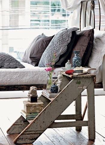 Idee fai da te per la camera da letto - I comodini