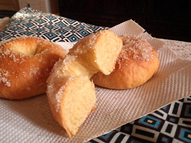 TREAT & TRICK: BAKED YEAST DOUGHNUTS