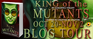 King of the Mutants Blog Tour