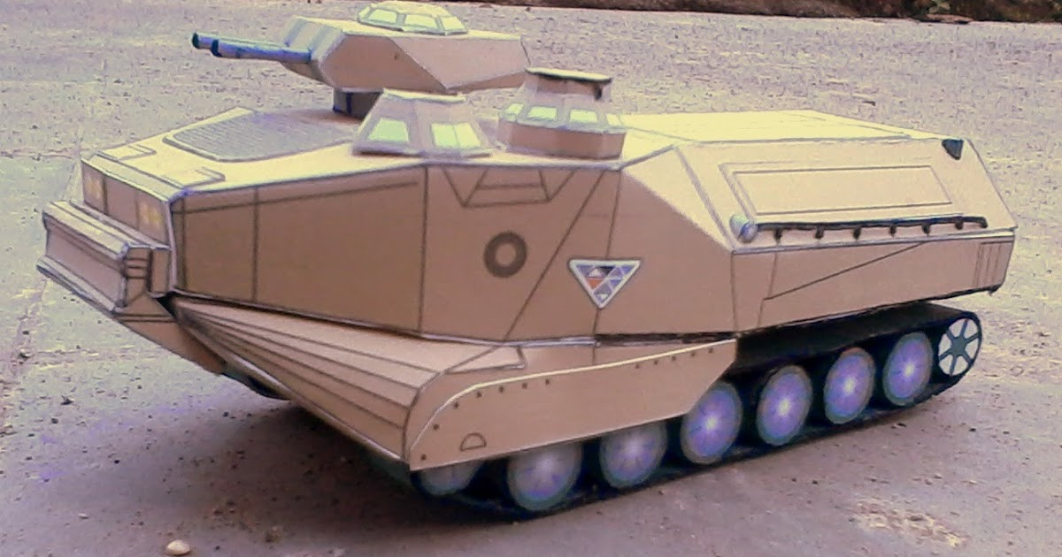 K Paper Craft Tanks