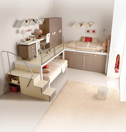 Creative-design-bunk-beds-for-teenagers