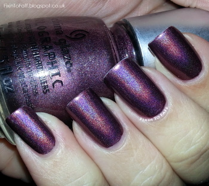 China Glaze When Stars Collide Swatch