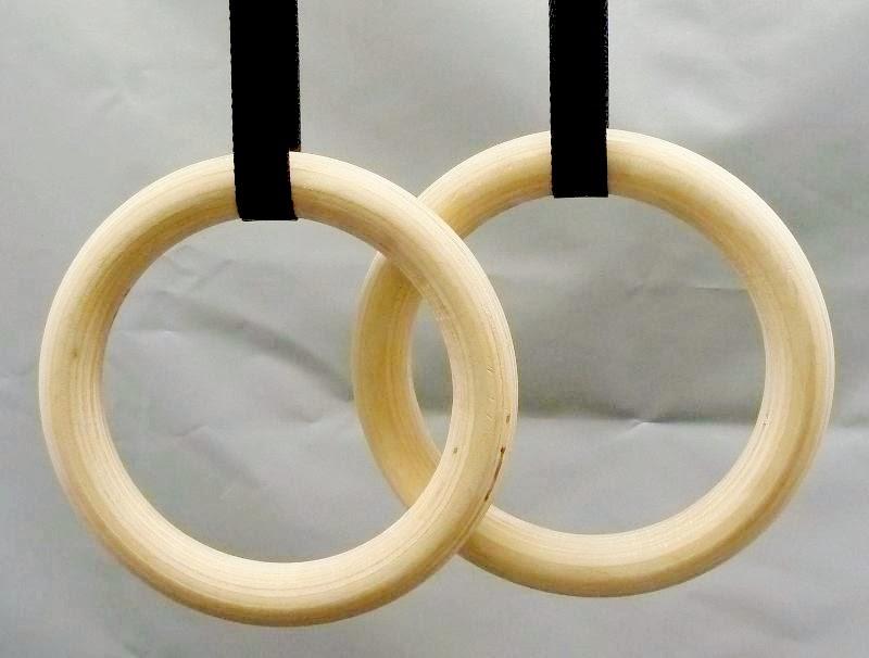 Wood Gymnastic Rings