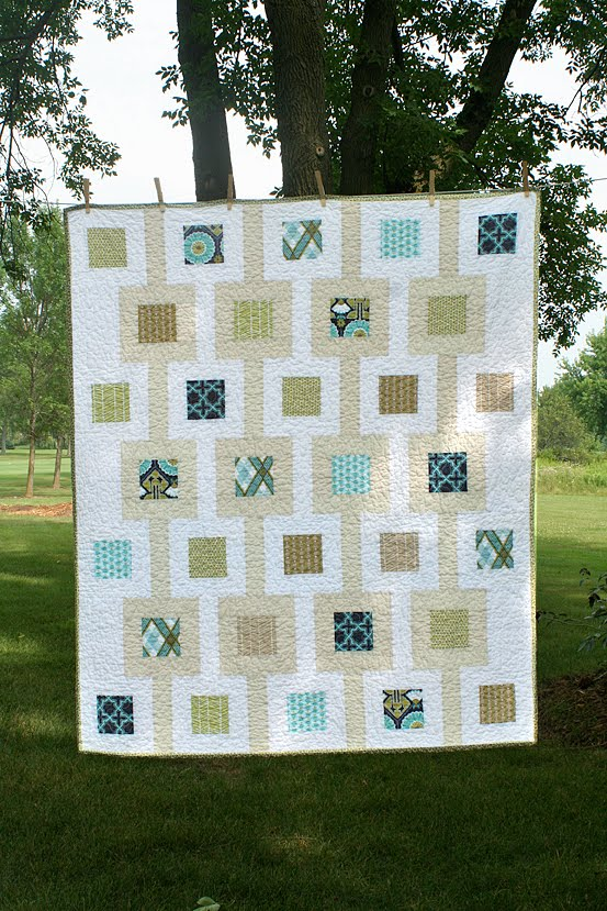 Modern Meadow Quilt – Freshly Pieced