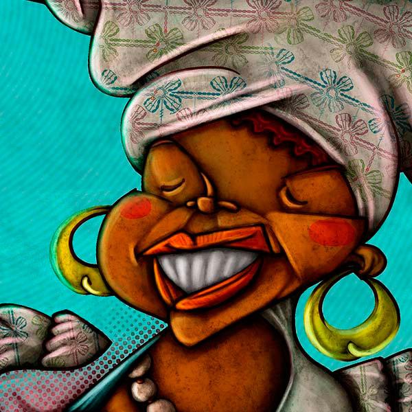 Ilustración. Letras brasileñas