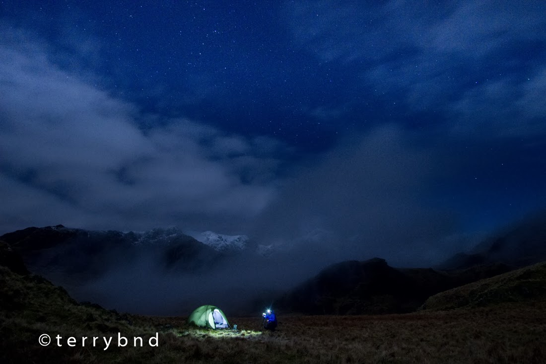 Chris Townsend wild camping Lake District