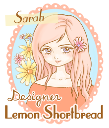 Design Team Member for Lemon Shortbread