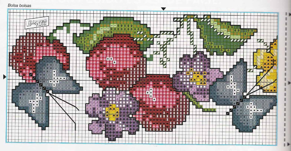 Idee Per La Cucina A Punto Croce : Grande raccolta di schemi e grafici per punto croce free