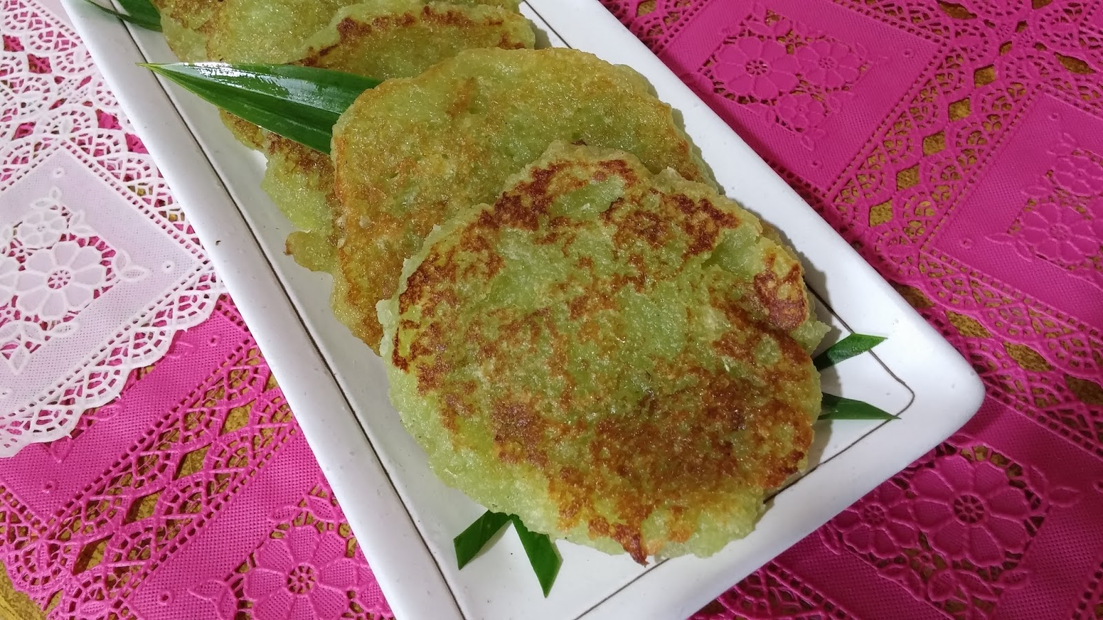 Cooking with Lu: Pan fried Tapioca Cakes