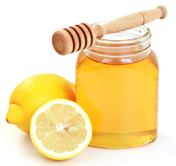 the Lemon and honey