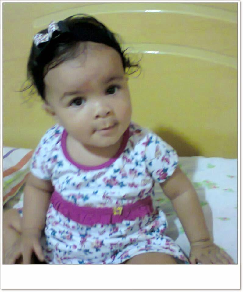 Sophia com 10 meses