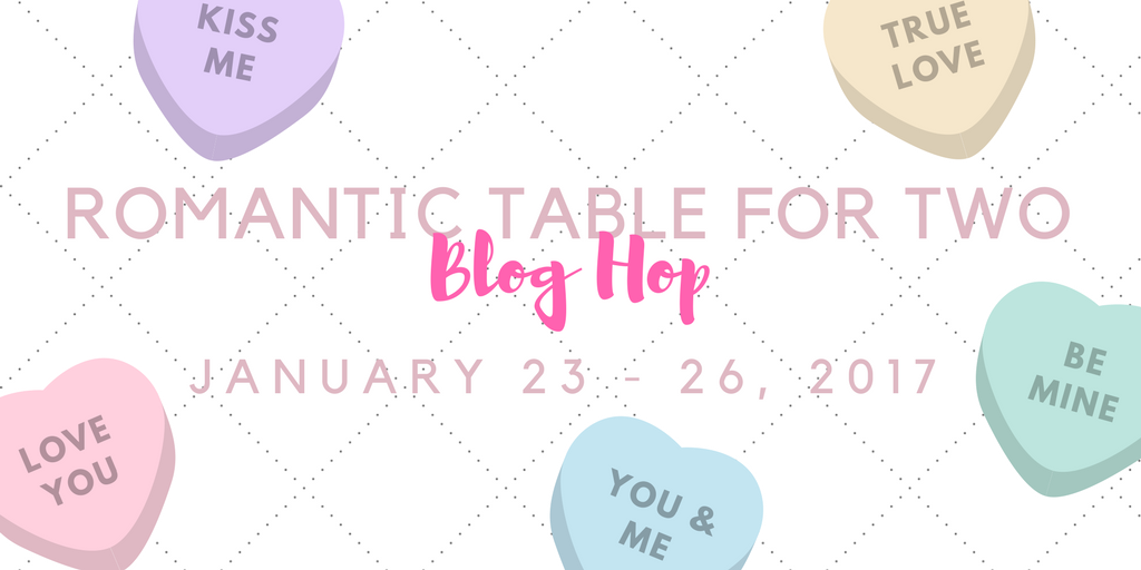 Romantic Table for Two Tablescape Blog Hop