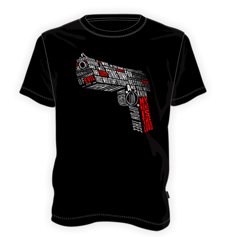 Pulp Fiction pistolet - Biblia