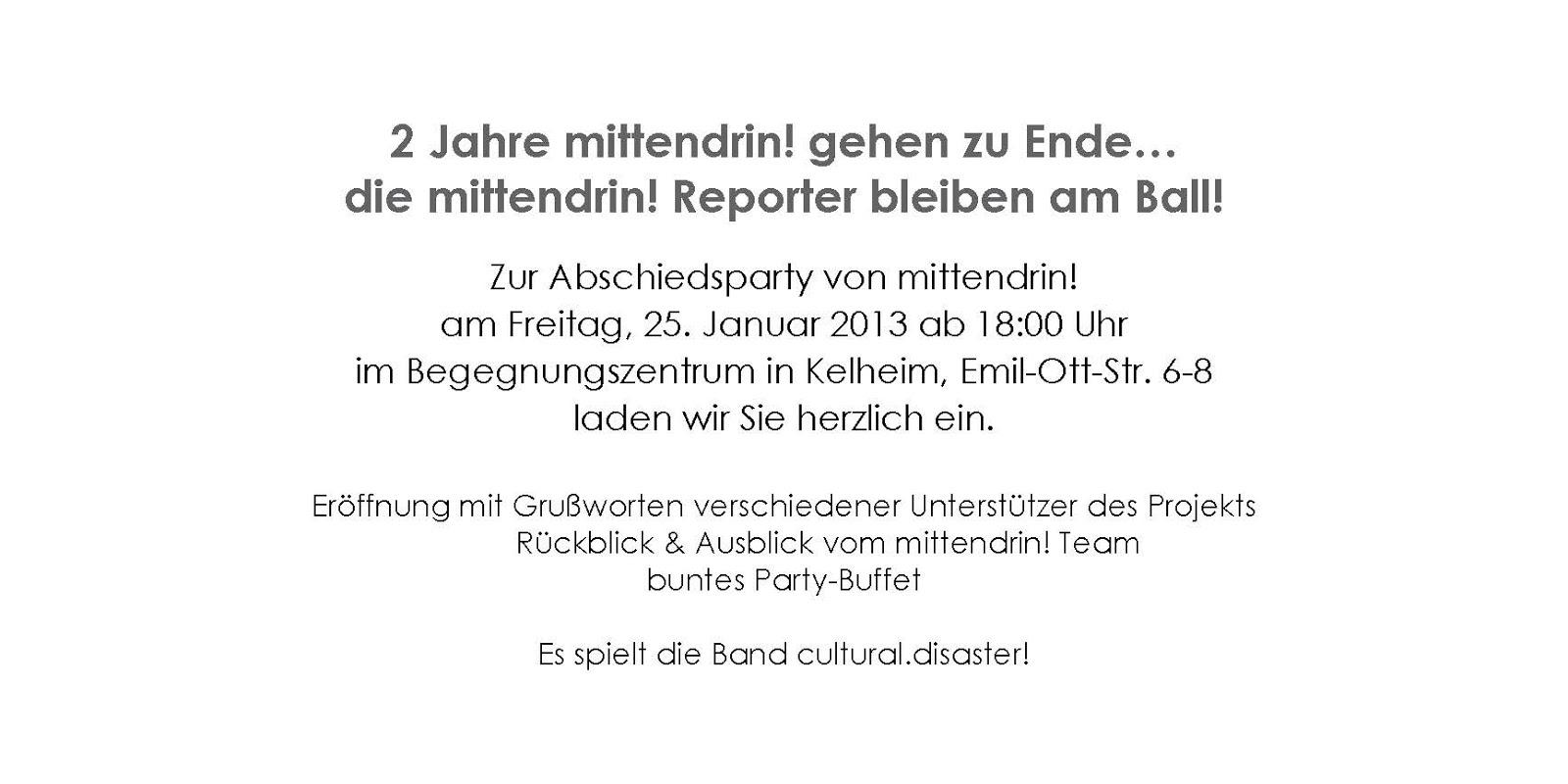 Tolle Abschiedsparty Einladungen Vorlagen Ideen - Beispiel Business ...
