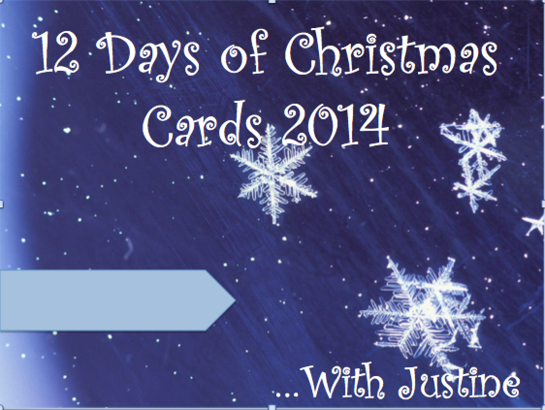 Justine\'s Cardmaking: 12 Days of Christmas Cards Video Series Day 2 ...