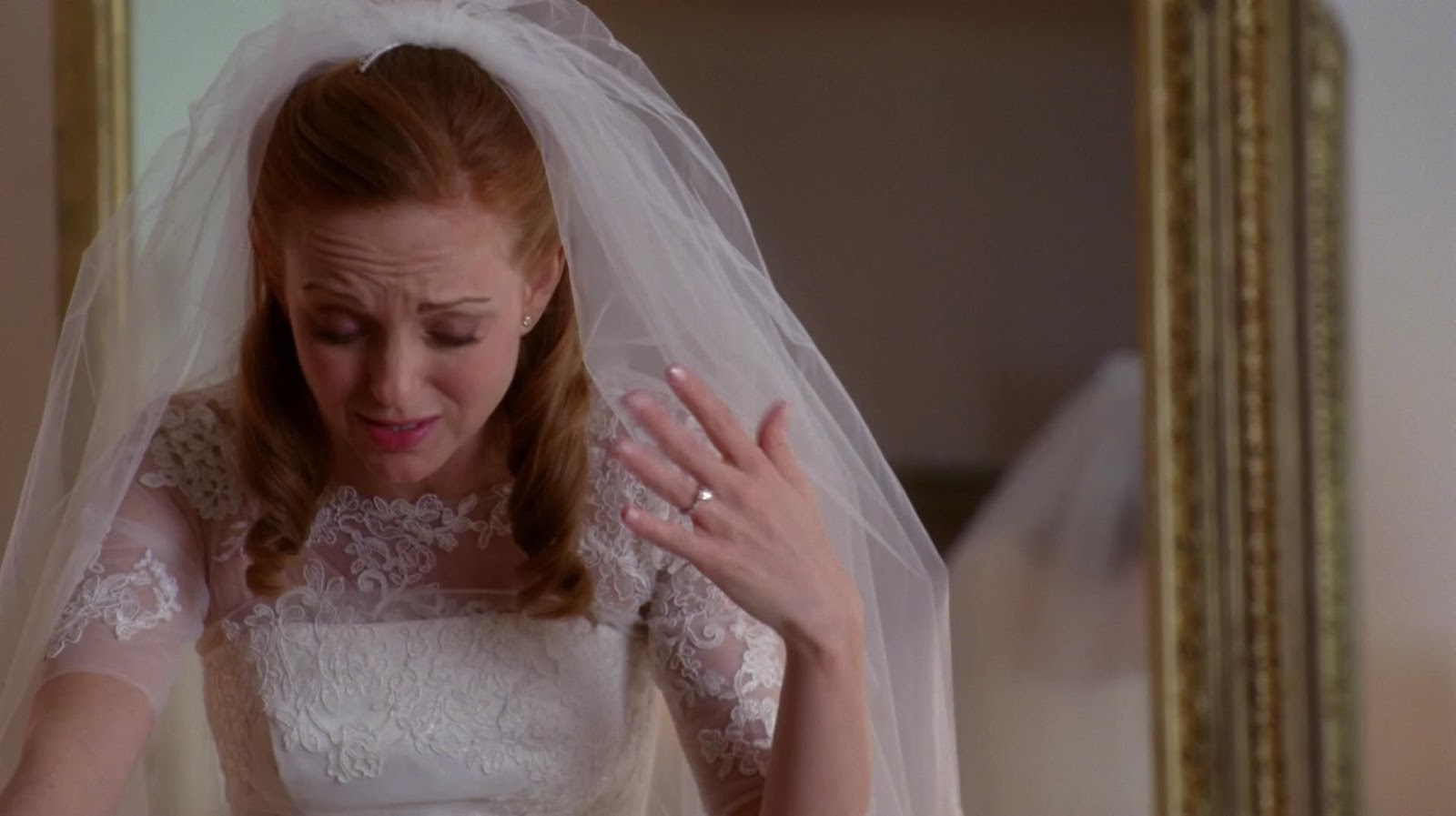 Sue In An Identical Wedding Gown