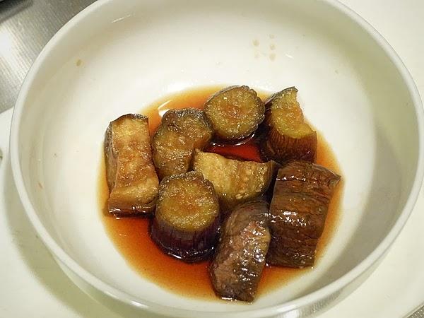 イワシとナスの梅煮そばの作り方(5)