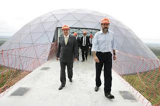 Governador Agnelo garante que a Torre Digital será inaugurada no aniversário de Brasilia no dia 21 de abril de 2012