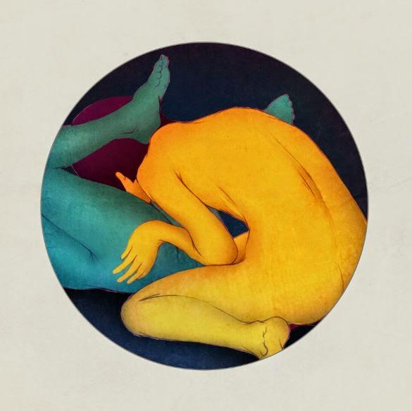 Mojo Wang ilustrações surreais sexo e intimidade