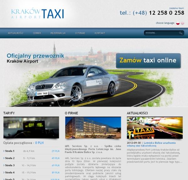 Kraków Taxi Lotnisko