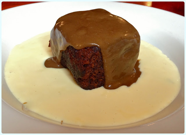 The Farmer's Arms, Bolton - Sticky toffee pudding