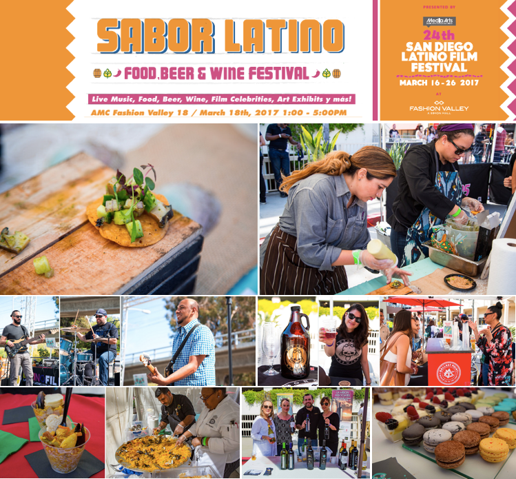Save on passes & Enter to win tickets to Sabor Latino Food, Beer & Wine Festival - March 18!