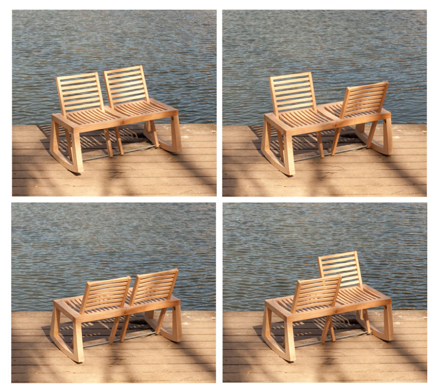Double View Bench from Outdoorz Gallery