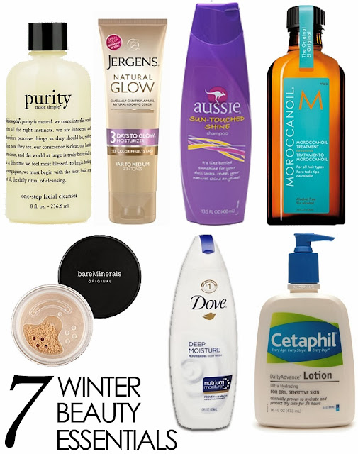 7 Winter Beauty Essentials