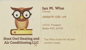 HOOT OWL HEATING AND A/C