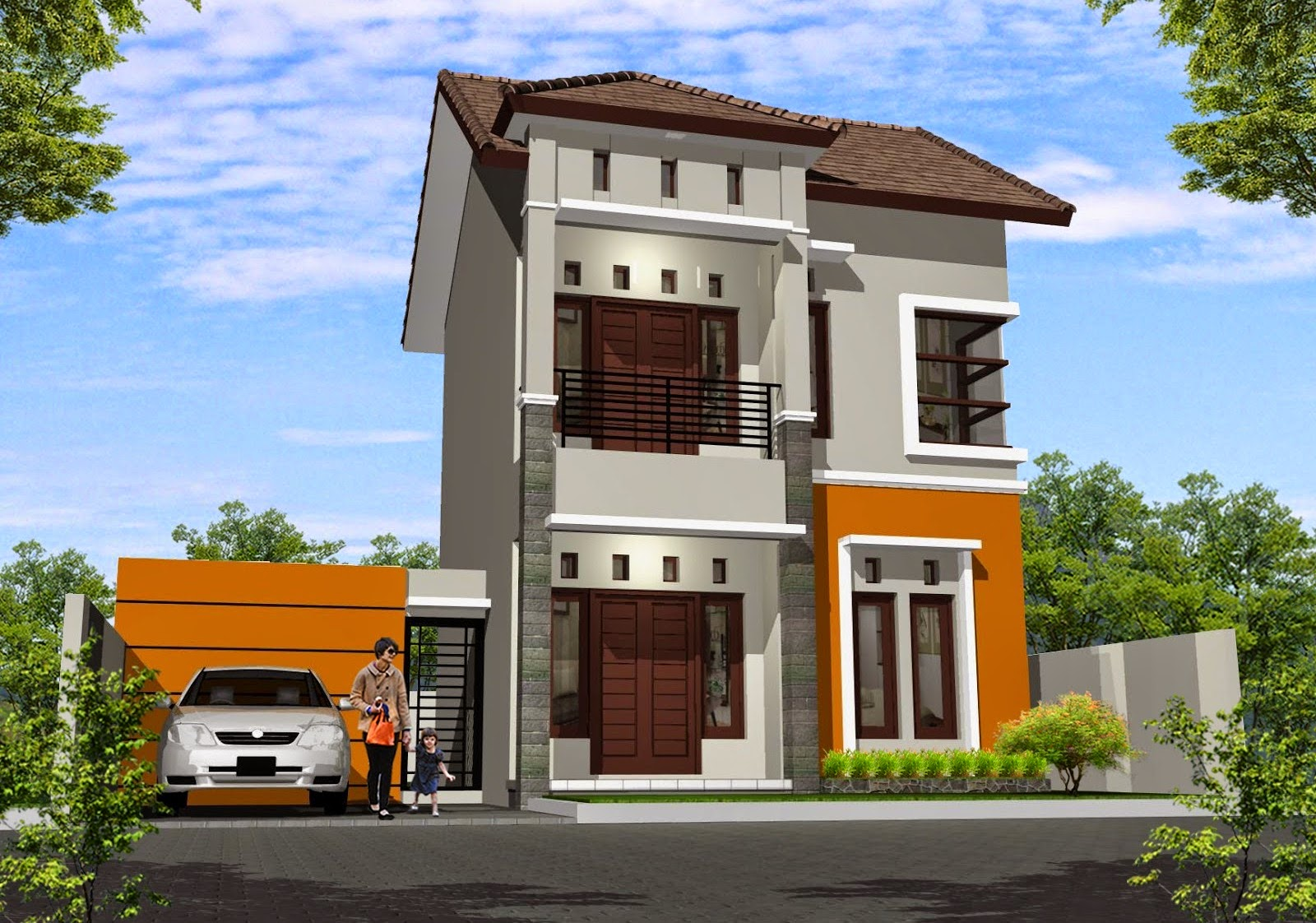 Minimalist House Color - Basically a minimalist house type 54 design images is quite important for users because without pictorial object will be difficult to find inspiration