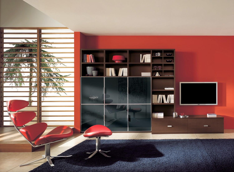Ide Desain Ruang Tamu Minimalis Warna Merah Ide Desain Rumah
