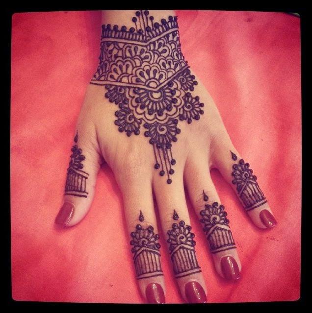 Mehndi Fingers Rating : Fingers mehndi design beauty makeup tips jigartv