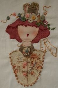 "Pattern ""the lady with the sewing hat""   7,90 EUR."