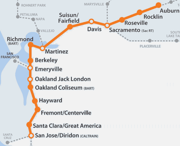 Planes, Trains, and Running: Amtrak Service and Fares - Routes - # on
