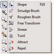 Fungsi-Fungsi Tool di Toolbox CorelDraw