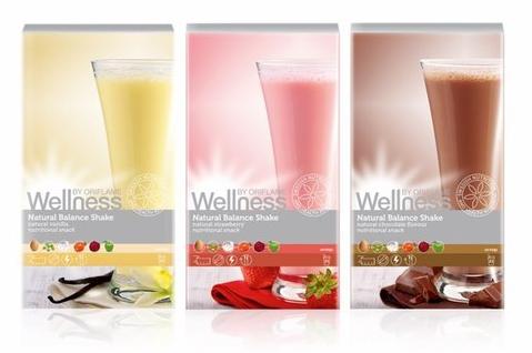 Koktajle Wellness od Oriflame pomagające schudnąć