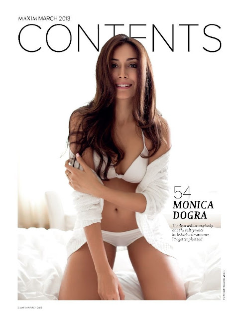Monica Dogra Photo shoot Maxim