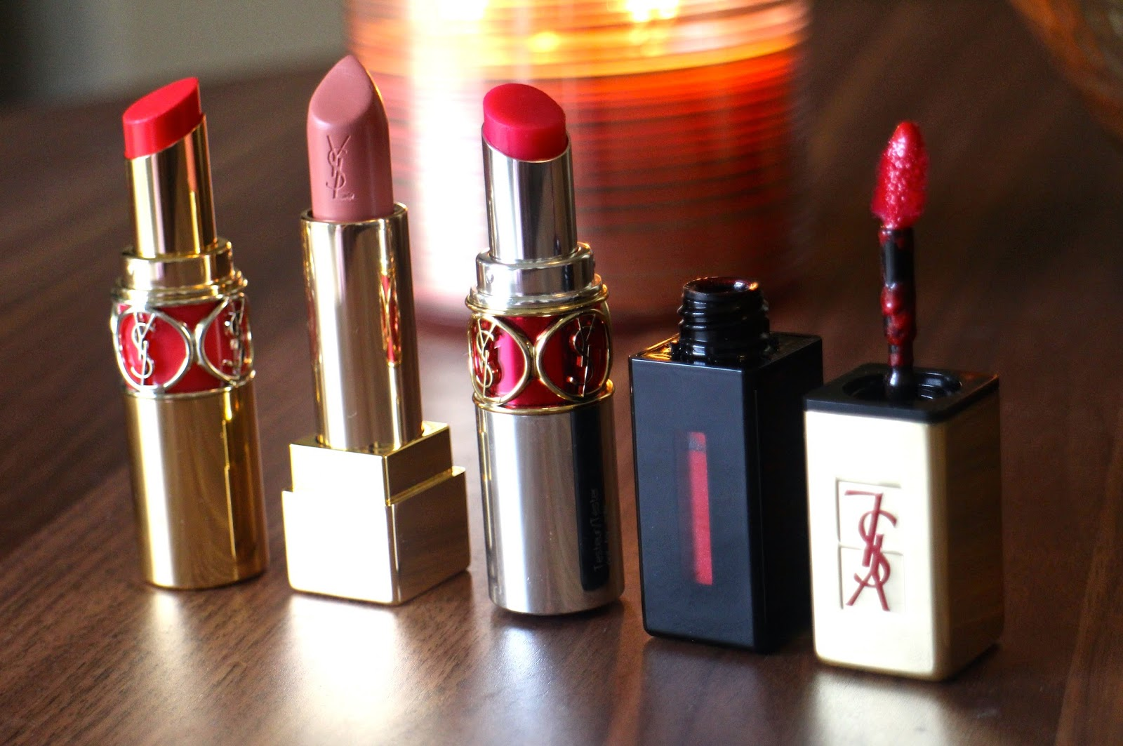 YSL Lip products