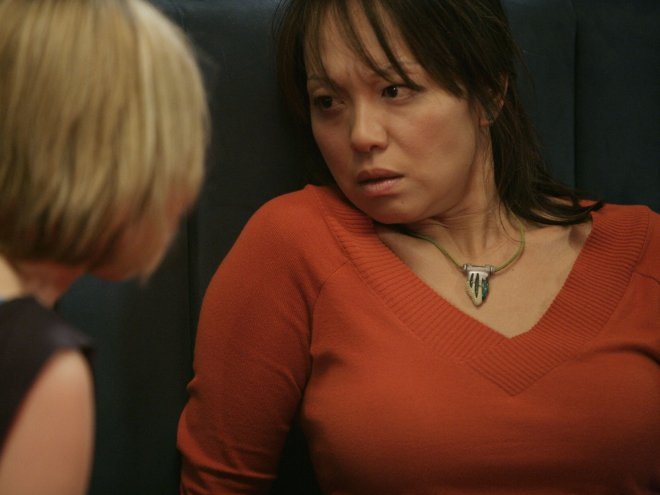 Daniela Denby-Ashe and Naoko Mori in Series One of Torchwood