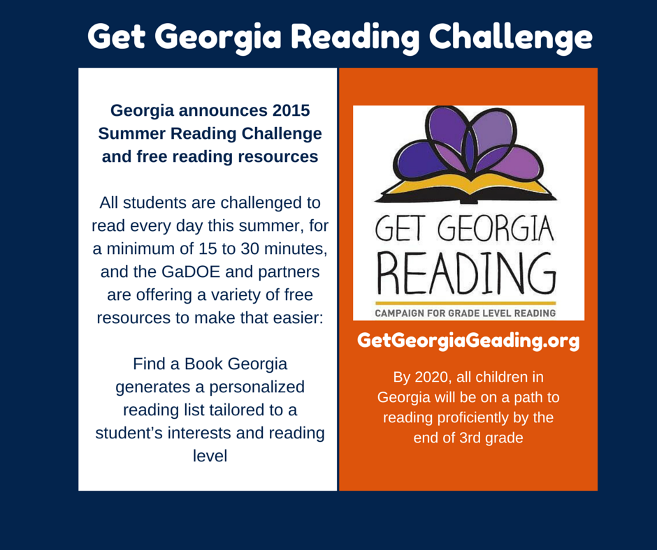 Get Georgia Reading Resources