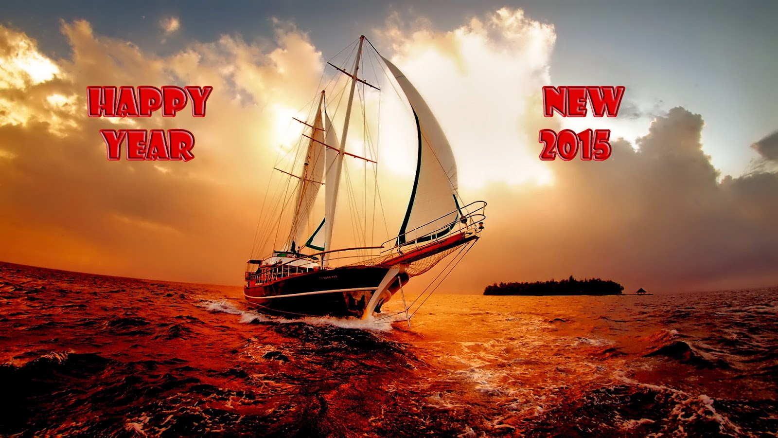 Happy New Year 2015 HD Cards - Best Images Wallpapers