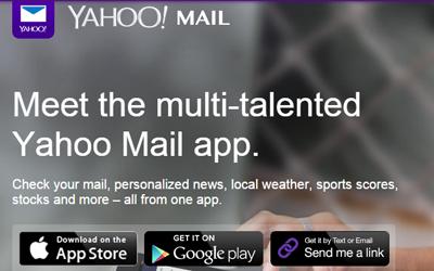 Instalar Yahoo Movil desde Facebook