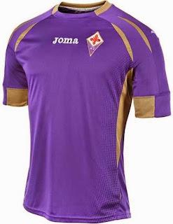 jersey Fiorentina home, terbaru, musim 2014/2015, grade ori, Fiorentina home 2014/2015, made in thailand, harga murah, baju bola liga italia, toko online naju bola terbaru