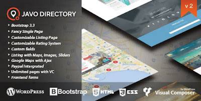 Javo Directory Wordpress Theme Download Free [Current Version v2.1.1]