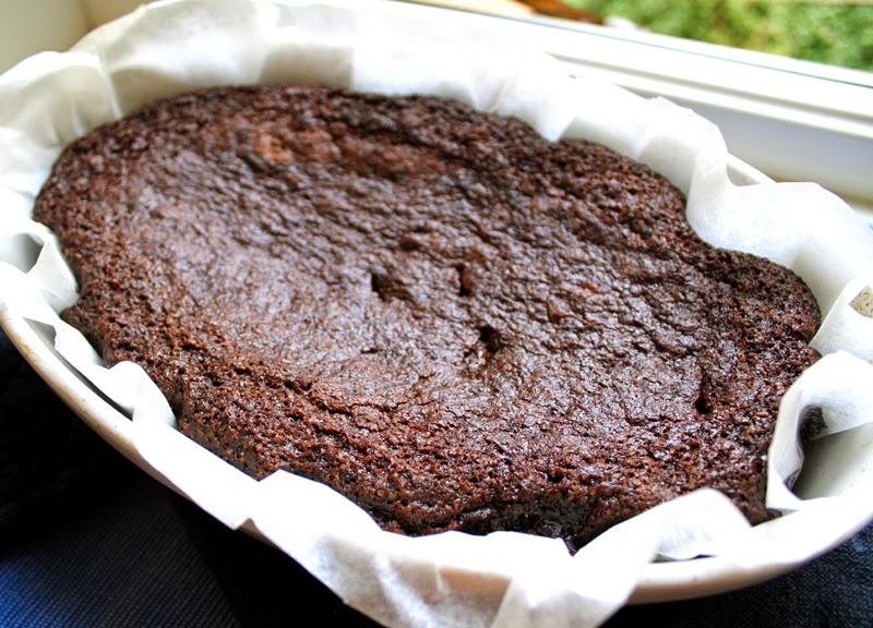 Oppskrift Enkel Vegansk Browniekake Brownies Allergivennlig Rask Melkefri Eggfri Uten Melk Egg Sjokoladekake