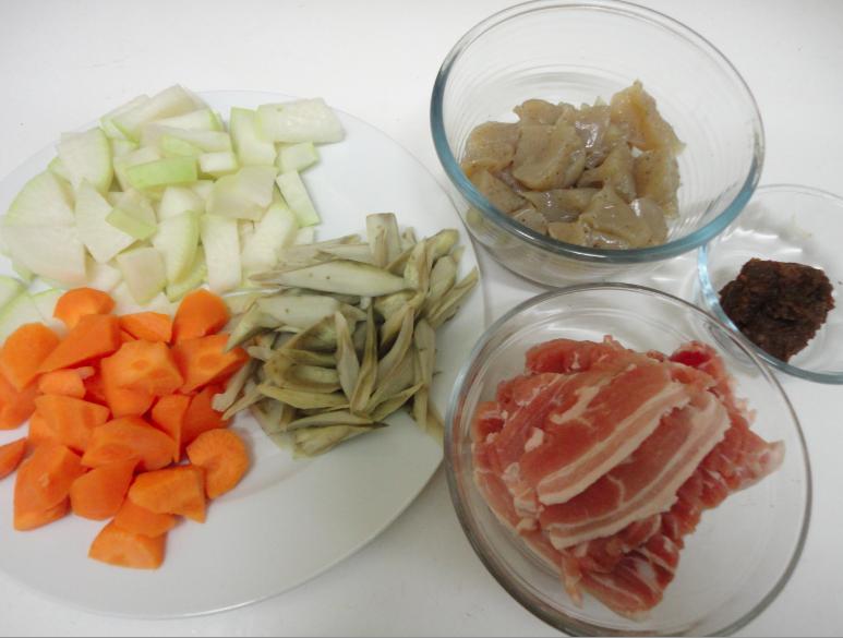 Ma vraie cuisine japonaise tonjiru rago t au porc et miso - Ma vraie cuisine japonaise ...