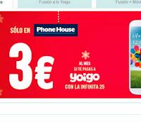 ofertas yoigo phone house navidad 2013 2014