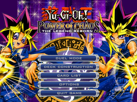 Yu Gi Oh Power Of Chaos Yugi The Destiny En Espanol