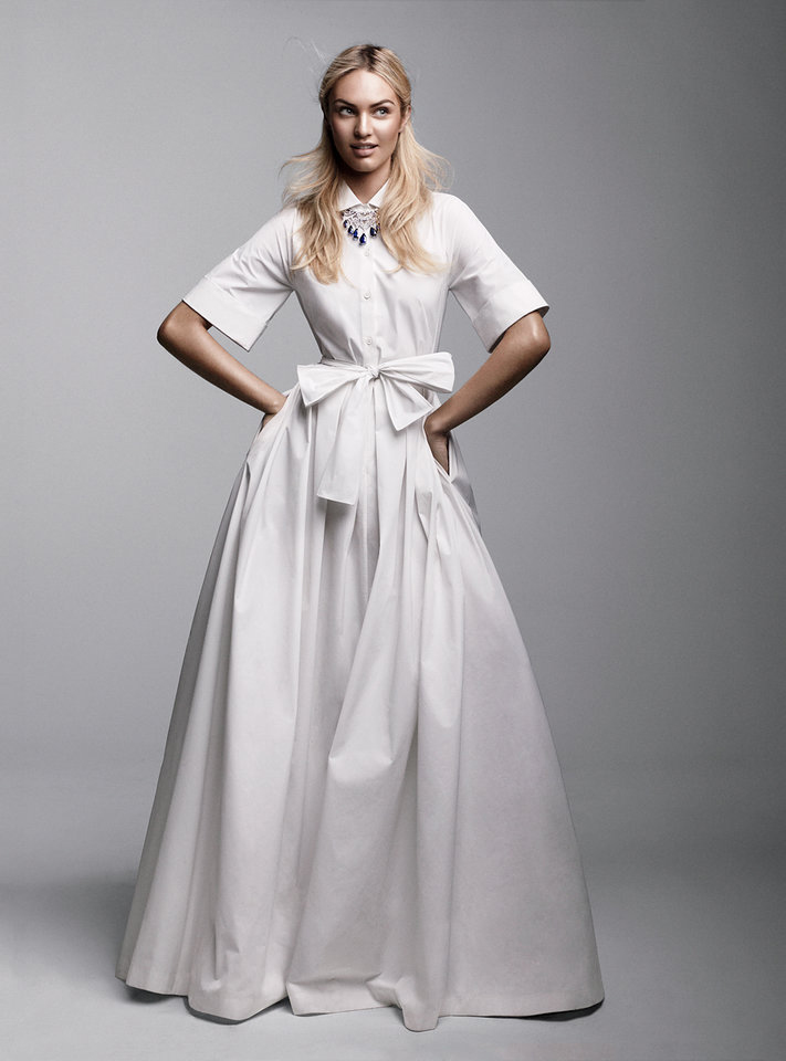 Candice Swanepoel in Vogue US April 2012 (photography: Craig McDean, styling: Tabitha Simmons)