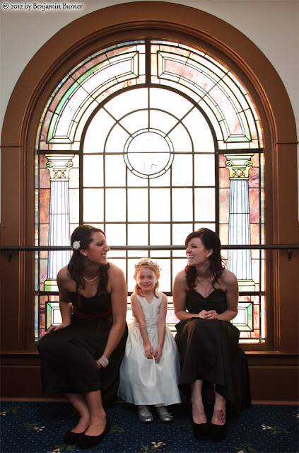 Bridesmaids and Flowergirl The Abby